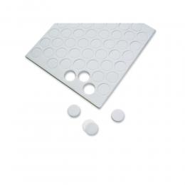 3D köralakú ragasztópárna, 6 mm ø, 1,5 mm magas