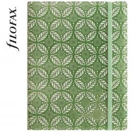 Filofax Notebook Impressions A5 Zöld-fehér