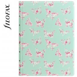 Filofax Notebook Patterns A5 Butterflies