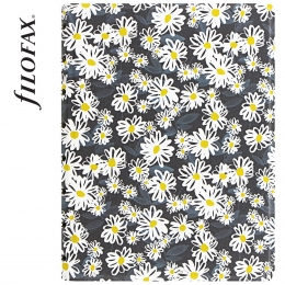 Filofax Notebook Patterns A5 Daisies