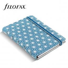 Filofax Notebook Impressions Pocket Kék-fehér