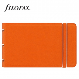 Filofax Notebook Classic Smart Narancs