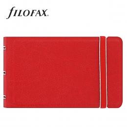 Filofax Notebook Classic Smart Piros