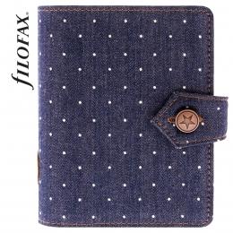 Filofax Denim Dots Pocket