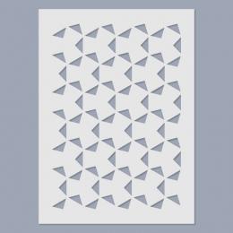 Háromszög stencil