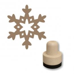 Hópehely 01 szivacs nyomda