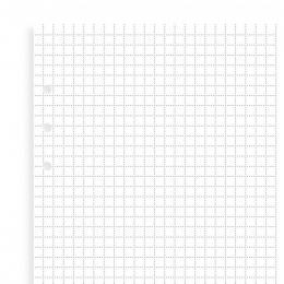Négyzethálós Filofax Clipbook Jegyzetlap