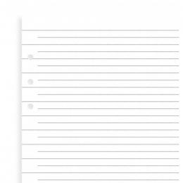 Vonalas Filofax Clipbook Jegyzetlap