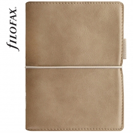 Őzbarna Filofax Domino Soft Pocket