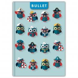 Happynest A5 Bullet Colors notesz