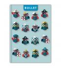 Happynest A5 Bullet Colors ponthálós notesz