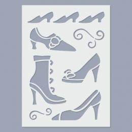 Cipők stencil