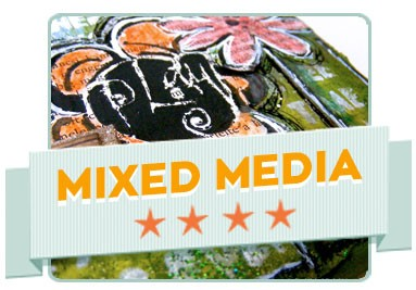 Mixed media technika