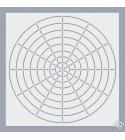 S12 Mandala pontozó stencil
