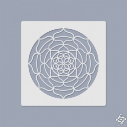 Mandala stencil 022