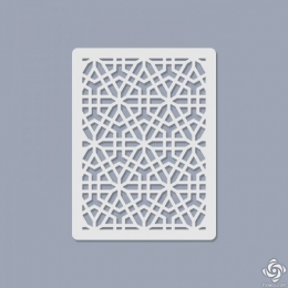 012 Texturáló 3D stencil