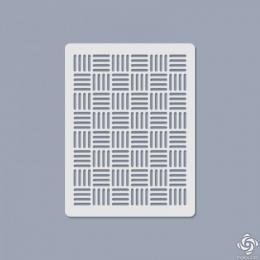 011 Texturáló 3D stencil