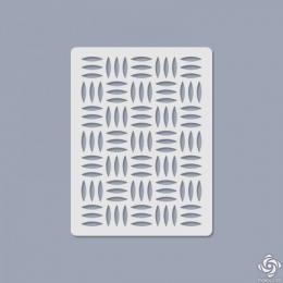 005 Texturáló 3D stencil