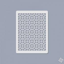 003 Texturáló 3D stencil