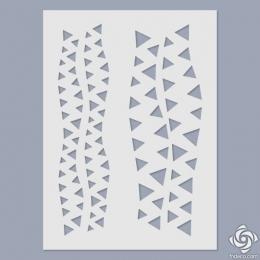 02 Háromszögek stencil