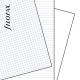 A4 vegyes jegyzetlap fehér | Filofax Clipbook