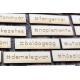 Kánikula   chipboard címfelirat csomag