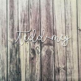Tedd meg! | chipboard címfelirat