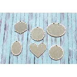 Kicsi medálok | hímezhető chipboard