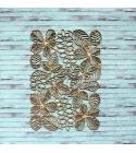 Őszi faleveles háttér chipboard karton díszítőelem