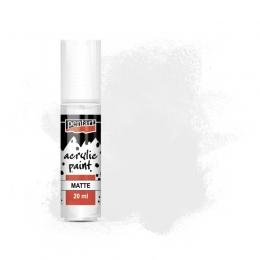 Fehér matt akrilfesték 20 ml