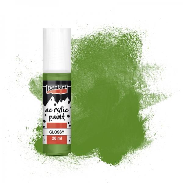 Olívazöld fényes akrilfesték 20 ml