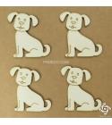 Kutya | chipboard karton díszítőelem