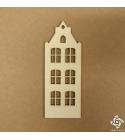 Holland ház 06 | chipboard karton díszítőelem