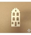 Holland ház 04 | chipboard karton díszítőelem