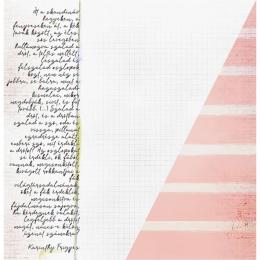 """Side Notes   12×12"""" scrapbookpapír"""