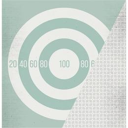 "Target   12×12"" scrapbookpapír"
