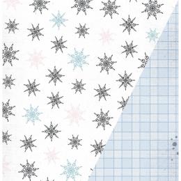 "Oh Snow | 12×12"" scrapbookpapír"
