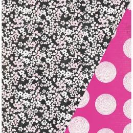 "Pink Petals | 12×12"" scrapbookpapír"