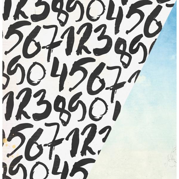 """Cloud Nine   12×12"""" scrapbookpapír"""