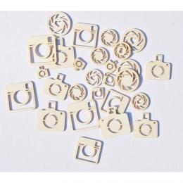 Fotómasinák | chipboard karton díszítőelem