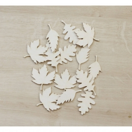Falevelek | chipboard karton díszítőelem