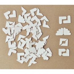 Fotósarok | chipboard karton díszítőelem