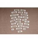 Napok | chipboard címfelirat csomag