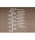 Hónapok 02 | chipboard címfelirat csomag