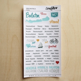Balaton mini | matrica