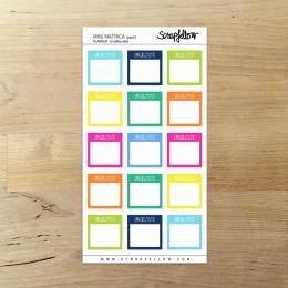 Planner Emlékeztető mini | matrica