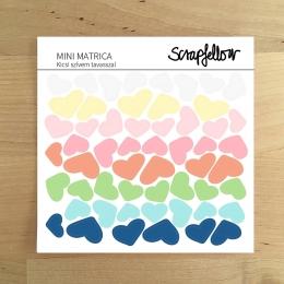 Kicsi szívem tavasszal mini | matrica