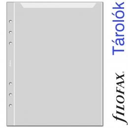 Filofax Boríték A5 Átlátszó