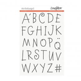 Manó Alpha nagybetűk | szilikon nyomda