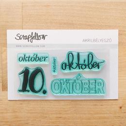 Október | szilikon nyomda